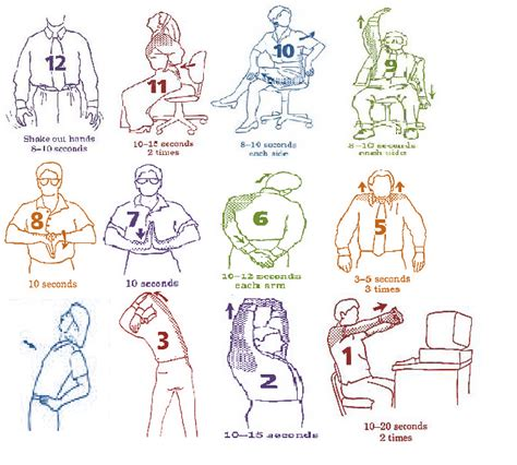 shoulder pain from sitting at desk image gallery neck and shoulder stretches
