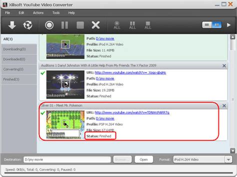 format video hd youtube xilisoft youtube hd video converter 3 2 1 build 1216