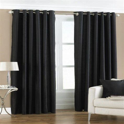 Black And Curtain Panels 25 Best Ideas About Black Curtains On Black