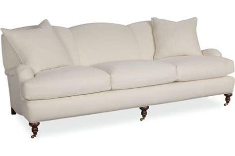 high leg sofa industries sofa with turned leg tight back 3278 03
