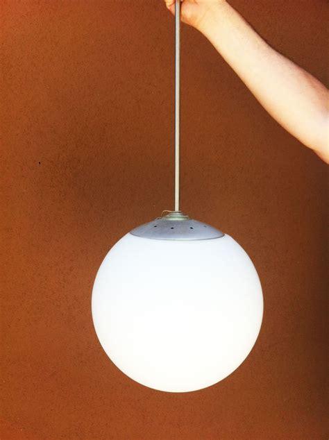 junkfunk mid century modern globe pendant light fixture