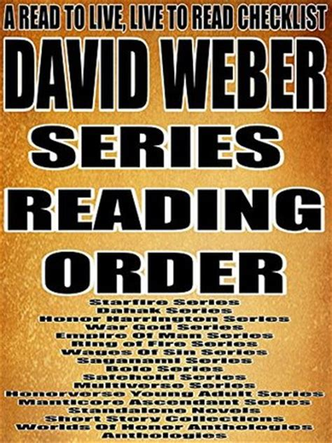 david weber series reading order  read
