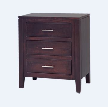 night table regular height drawers crate designs furniture amish tuscany 3 drawer night stand