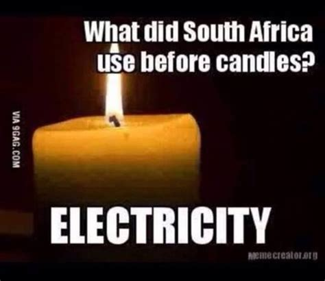 Load Shedding South Africa by South Jokes And Lightheartedness During