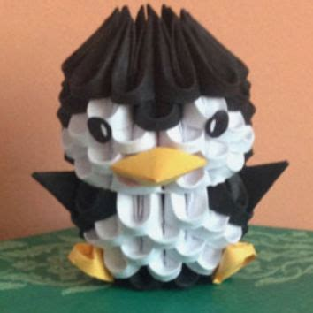 3d Penguin Origami - best 3d origami products on wanelo