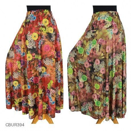 Rok Celana Jersey by Rok Jersey Bunga Vintage Lila Celana Rok Muslim Murah