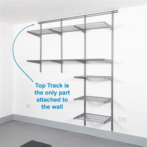Wall Shelf Track by Track System Shelving Images