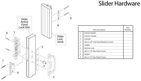 Crestline Patio Door Replacement Parts by Doors Parts Description Refrigerator Side By Side Quot Quot Sc Quot 1