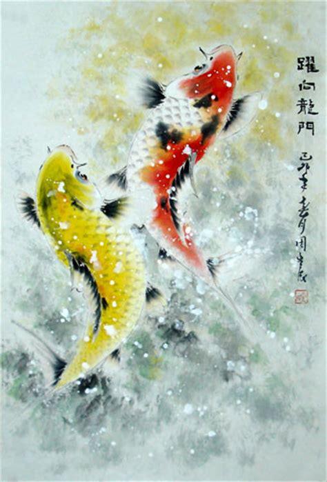 new year koi fish koi fish painting 0 2378002 69cm x 46cm 27 x 18