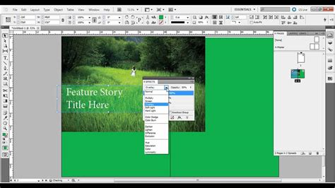 add pattern to shape indesign working with shapes in adobe indesign youtube