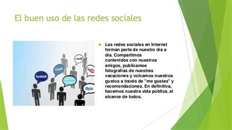imagenes de uso de redes sociales el buen uso de las redes sociales