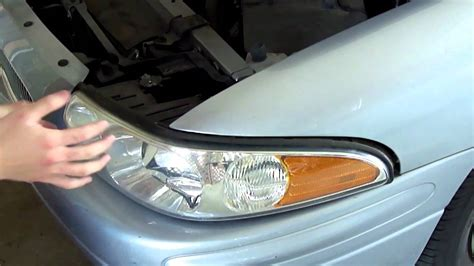 2000 buick park avenue head removal and install how to change headlights on a buick lesabre 2000 2005 youtube