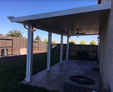 scallop end cap patio cover installation service