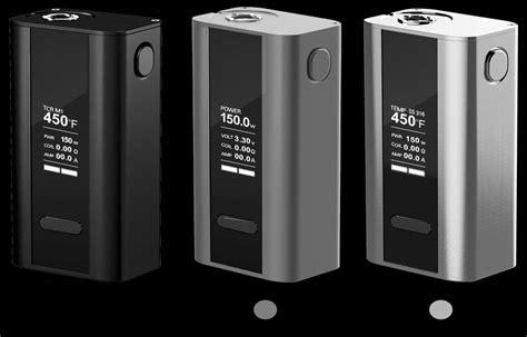 Cuboid 150 Watt Silver Mod Vape 2 joyetech cuboid mod 150 watts tc
