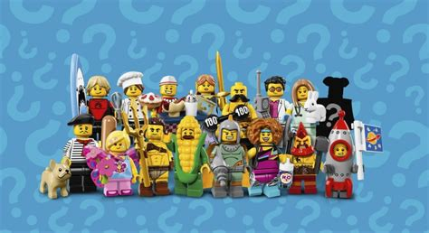 Lego Minifigures Series 17 71018 lego 71018 collectible minifigures series 17 les visuels