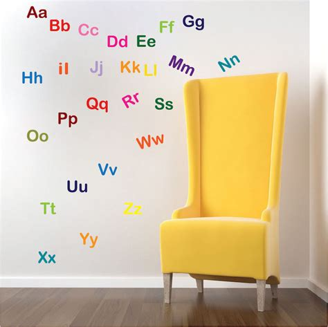 wall letter decals for nursery alphabet decal nursery wall decal murals primedecals