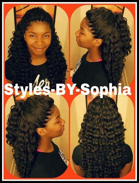 crochet weave with deep wave hairstyles for women over 50 crochet kima ripple deep dopee styles pinterest