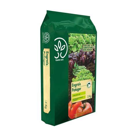 engrais potager 5 kg gamm vert plantes et jardins