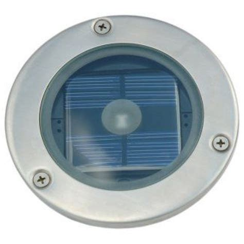 Solarcentre Solar Powered Led Stainless Steel Round Deck Solar Led Decking Lights