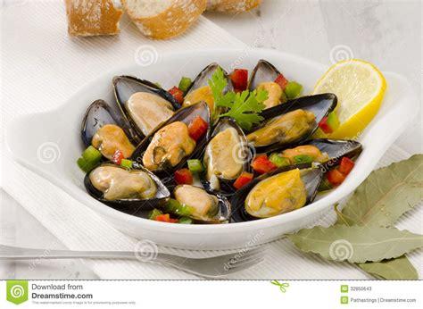 cuisine moules cuisine espagnole moules en sauce mejillones une la