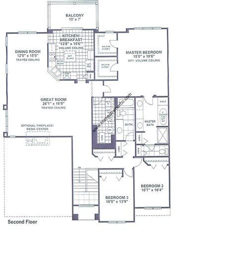 brighton centre floor plan brighton model in the bayhill subdivision in vernon illinois homes by marco