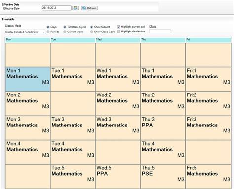 timetable templates for teachers image collections