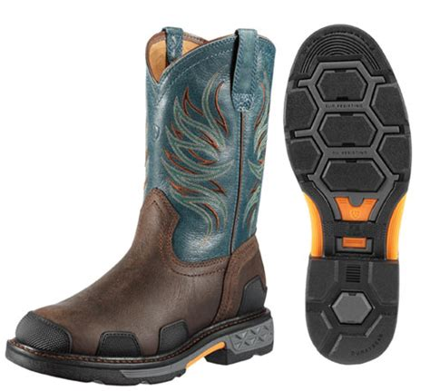 ariat overdrive work boots ariat s overdrive western work boot