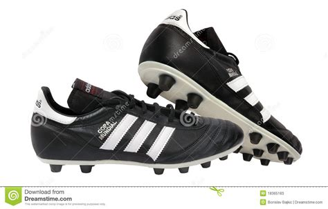 used football shoes adidas soccer shoes editorial stock photo image 18365183