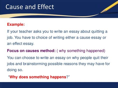How To Write Cause And Effect Essay by How To Write An Introduction Paragraph For A Cause And Effect Essay Writing Lab Www