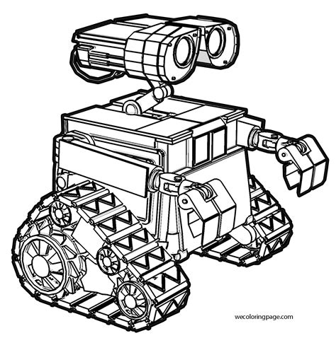 Wall E Coloring Pages by Wall E Coloring Pages Wecoloringpage
