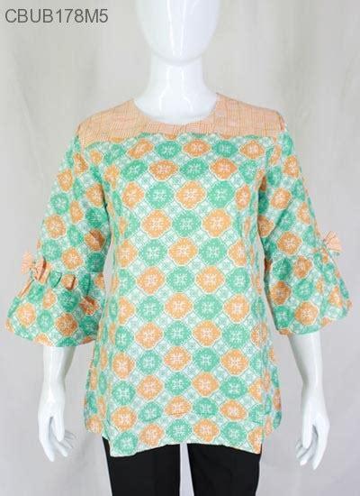 Baju Batik Batik Ayusari Blus Batik Lonceng Asmad blus lonceng rengganis blus lengan tanggung murah batikunik