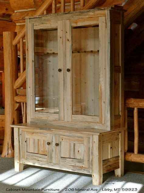 1000 ideas about wood gun cabinet on gun