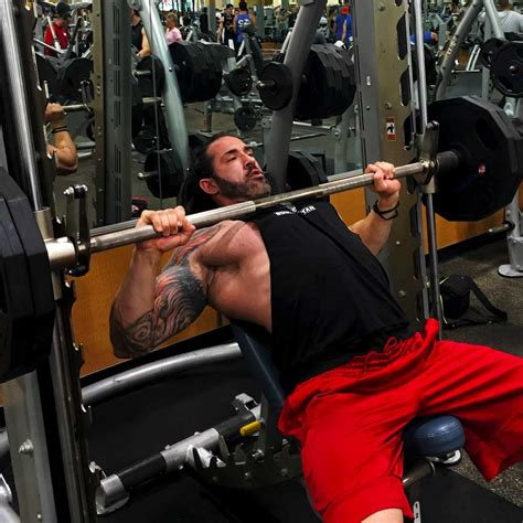 using smith machine for bench press chest workout for massive pecs body spartan