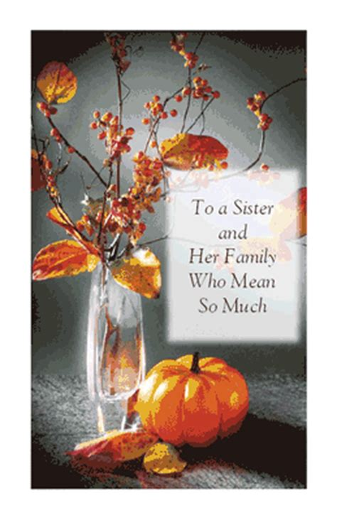 sister   family thanksgiving printable card blue mountain ecards