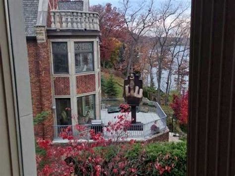 Man Buys Home Next To Ex Wife And Erects Giant Middle Finger Statue Business Insider