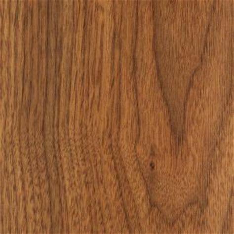 trafficmaster hawthorne walnut laminate flooring 5 in x