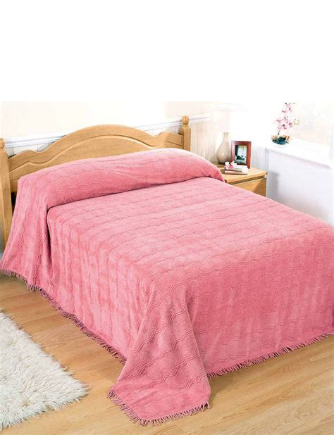 Classic Bedspreads Classic Luxury Candlewick Bedspread By Diana Cowpe Home