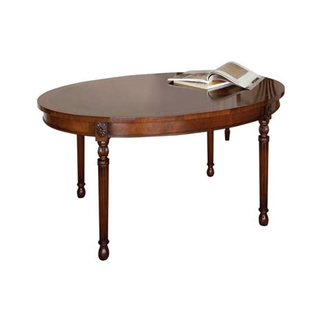 Oval Coffee Tables Uk Mahogany Oval Coffee Table Titchmarsh Goodwin