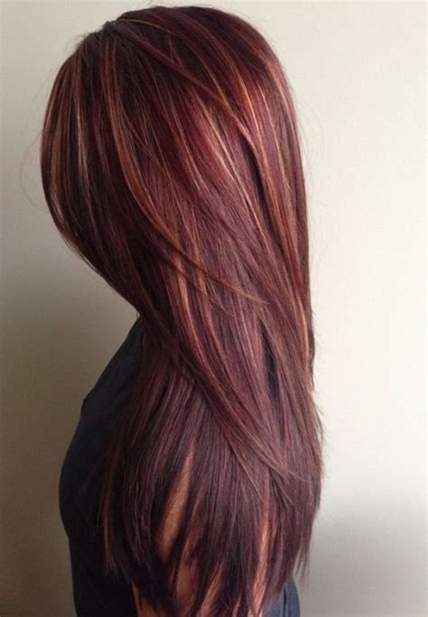 dark brown hair with mahogany highlights mahogany hair color with caramel highlights amanda