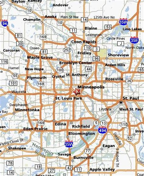 maps minneapolis minneapolis map free printable maps