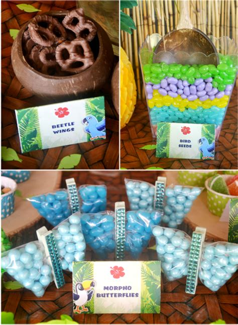 rio   inspired birthday party party ideas party printables blog