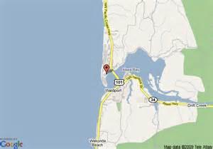 map of howard johnson inn waldport waldport