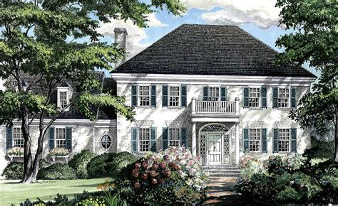 southern house plans southern colonial home plan 32444wp architectural designs house plans