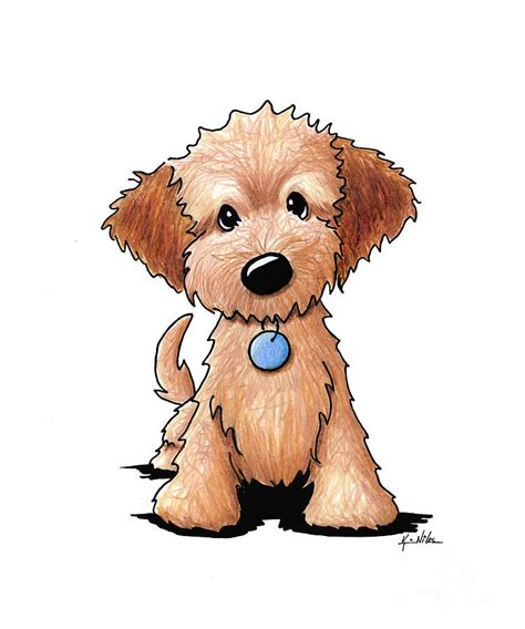 how to draw a goldendoodle goldendoodle puppy drawing by niles