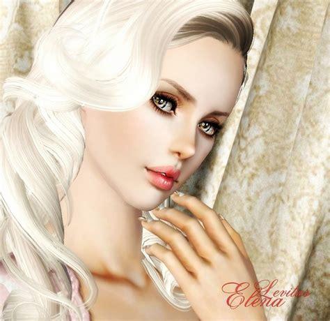 by levitas tags sim sims model sims3 female sims3 modeli siminka elena the sims 3