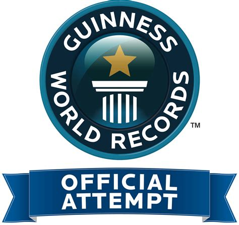 Official Records Industry Attempts To Set Brand New Guinness World Record The Most