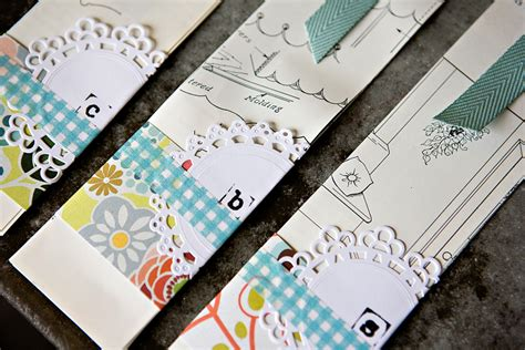 Paper Bookmarks - diy layered paper bookmark 187 ashleyannphotography