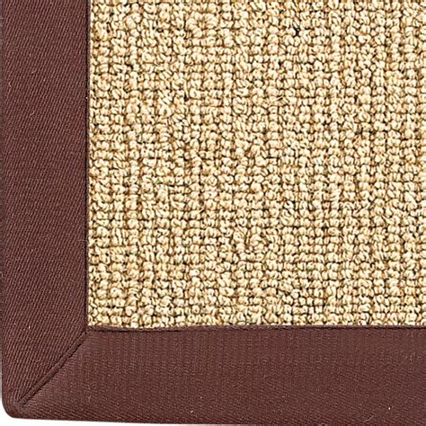binding rugs wool sisal w cotton twill binding rug shades of light