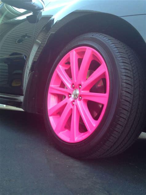Pink Wheel pink rims cars