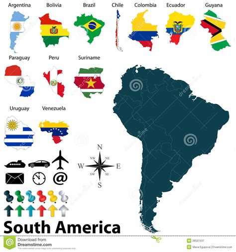 south america map desktop wallpaper maps of south america royalty free stock photography